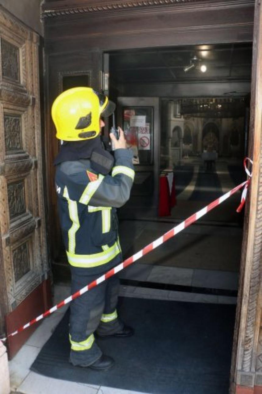 Buknula vatra u smederevskoj crkvi