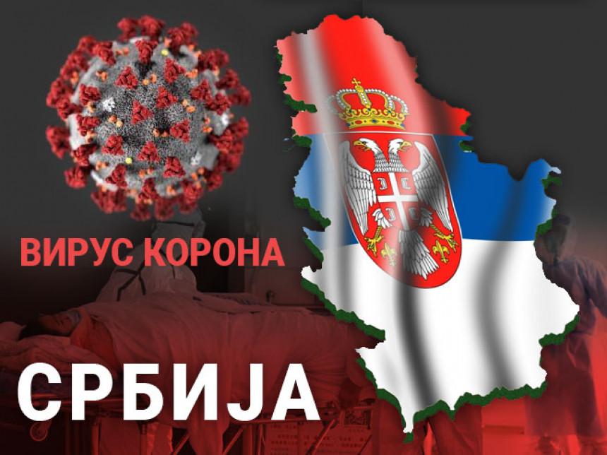 U Srbiji 1.328 novozaraženih, petoro preminulih