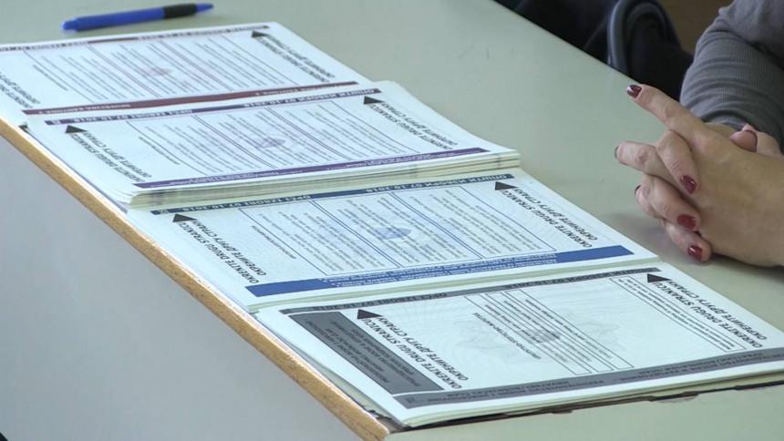 Zabilježeno više od 800 izbornih nepravilnosti