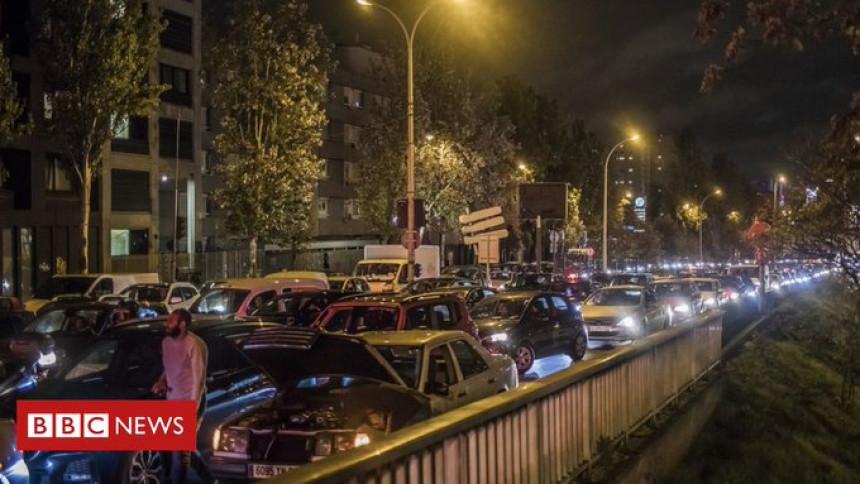 Nevjerovatni snimci: Kolone u Parizu duge čak 700 km