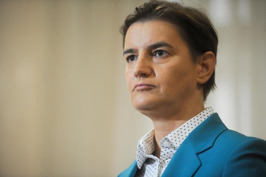 Premijerka Srbije dva dana uoči izbora u Banjaluci