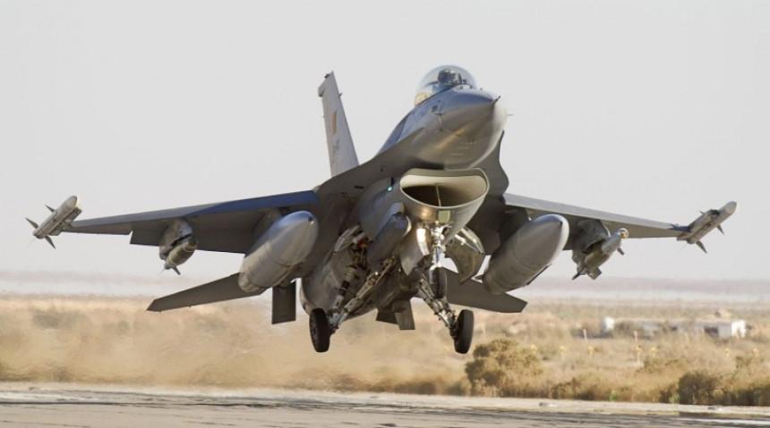 Zajednička vojna vježba: Učestvuju i dva F-16 aviona