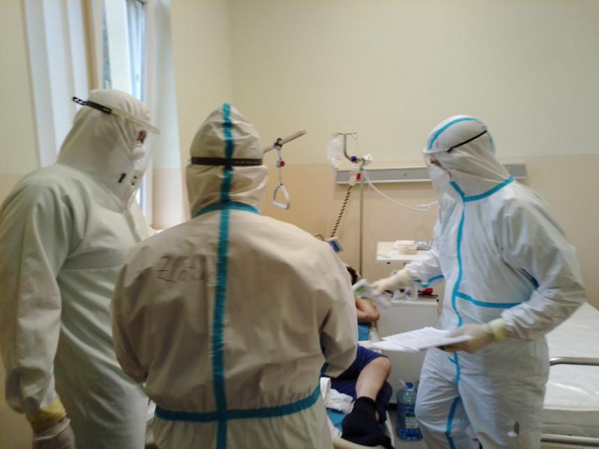 У бијељинским ковид болницама 111 обољелих особа