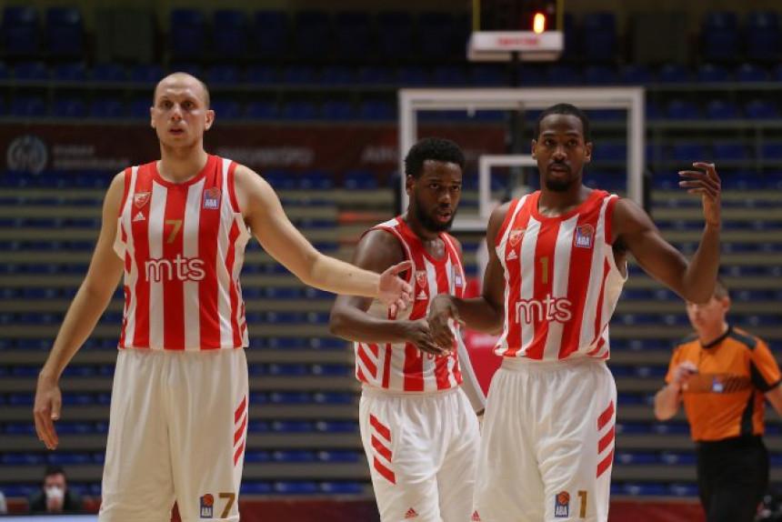 Košarkaši Zvezde poraženi pred vječiti derbi