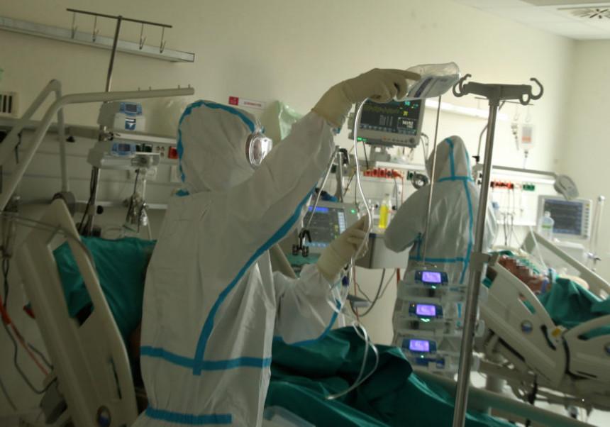 Požar u bolnici u Nišu: Povrijeđeno više osoba