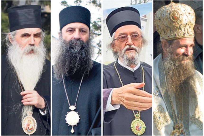 Ovi episkopi imaju najveće šanse da budu kandidati za novog poglavara SPC