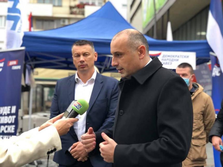 Darko Banjac podnio ostavku i istupio iz DNS-a