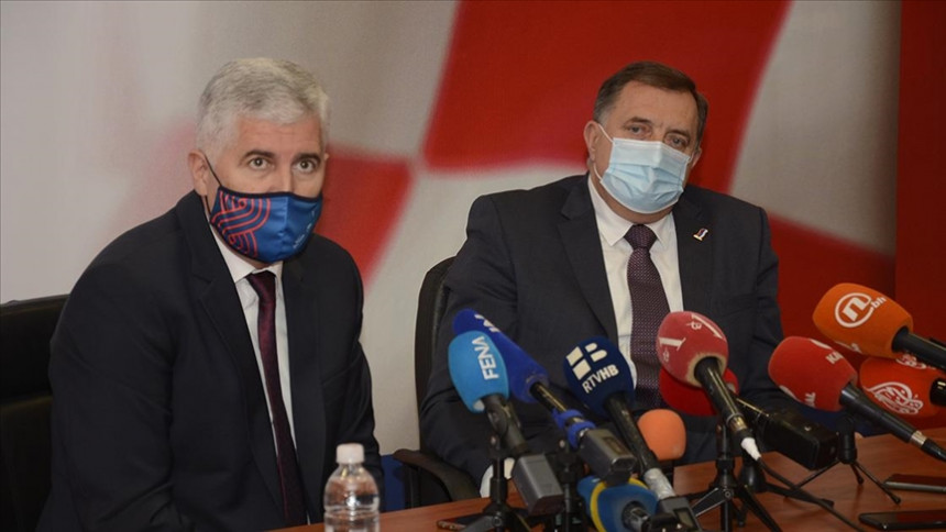 Sastanak sa Čovićem i poziv Srbima da glasaju u Mostaru