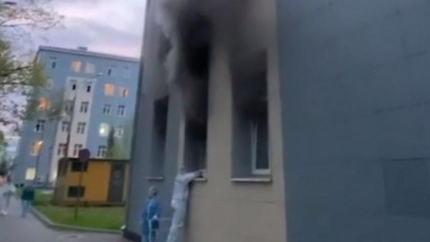 Moskva: U požaru u bolnici poginule dvije osobe