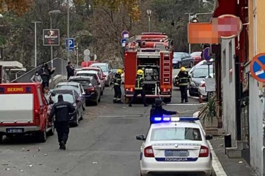 Velika eksplozija na gradilištu kod zgrade RTS-a