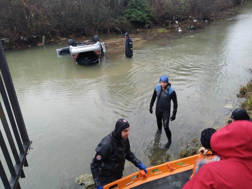 Mostar: Automobil sletio u rijeku, vozač poginuo