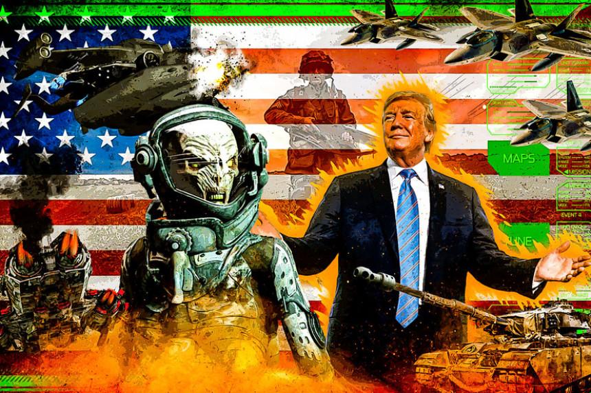 Vanzemaljci i SAD imaju sporazum kao i tajnu bazu na Marsu?!