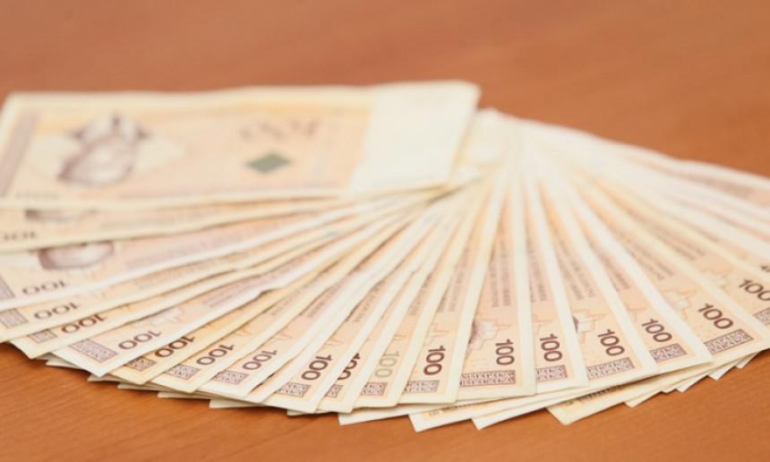 Najviša mjesečna plata u Srpskoj iznosi 33.525 KM