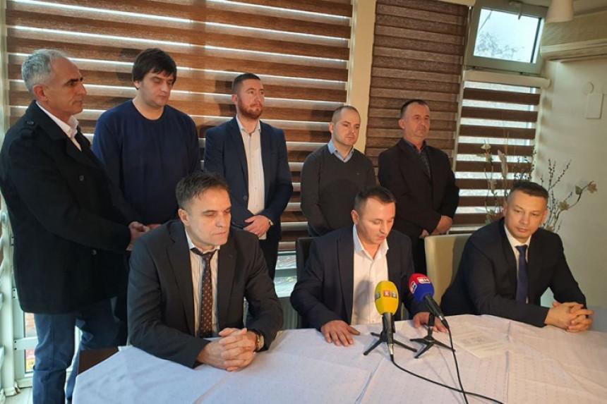 US, SDS, SP, DNS I NDP potpisali koalicioni sporazum u Stanarima