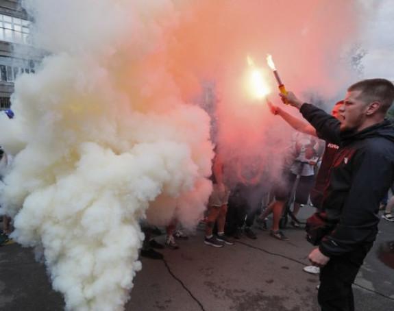 Haos na ulicama Kijeva zbog restriktivnih mjera
