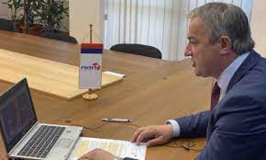 Borenović pisao Veberu: Treba nam vladavina prava