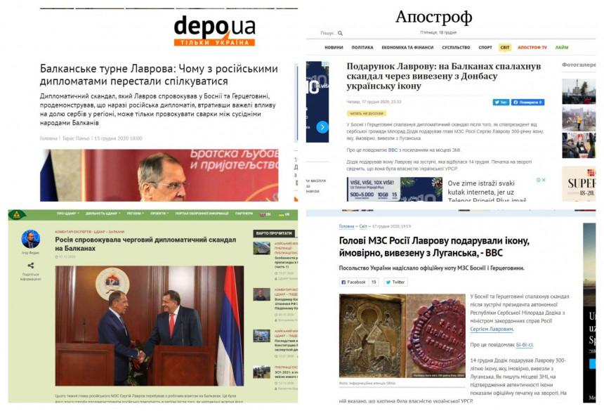 """""""Skandal sa ikonom"""" glavna vijest medija u Ukrajini"""