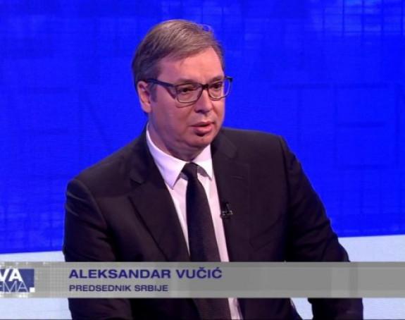 Vučić: Neće se dogoditi priznanje nezavisnosti Kosova