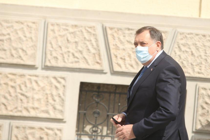 Milorad Dodik pozitivan na virus korona