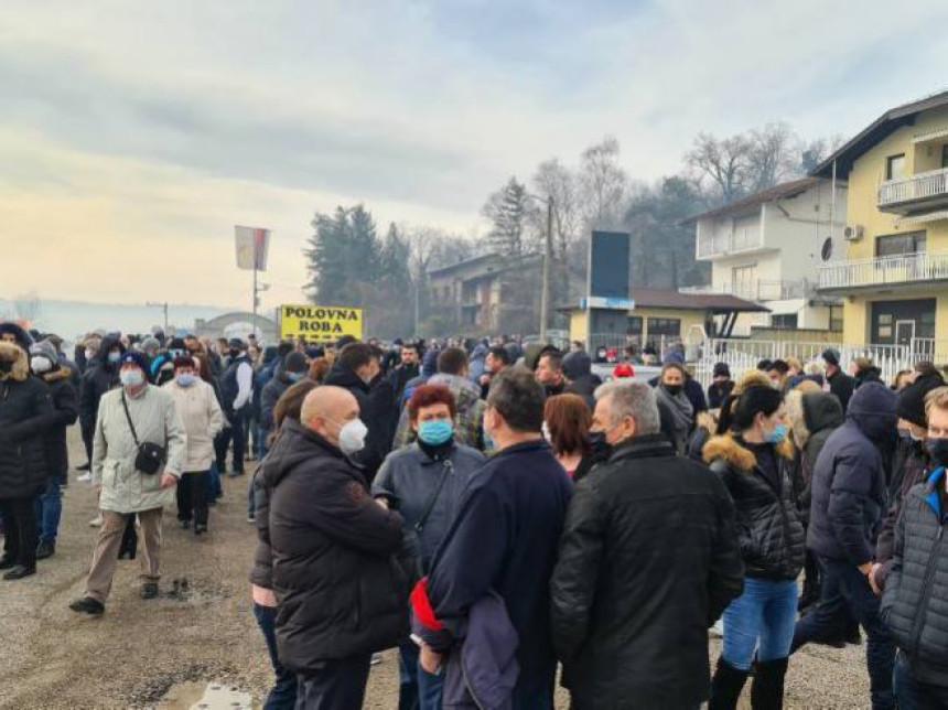 Protest zbog odluke CIK da ne potvrdi izbore