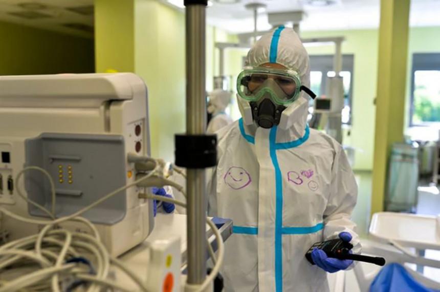 У ковид болницима у Бијељини 66 пацијената