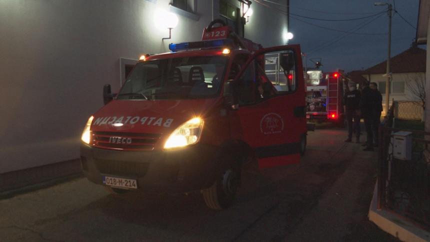 Dvočasovna borba sa požarom u zgradi BN televizije