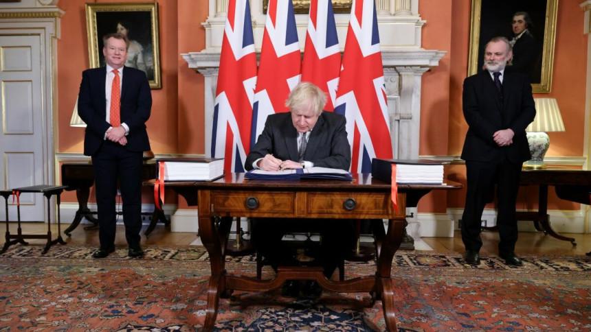 Džonson potpisao trgovinski sporazum sa EU