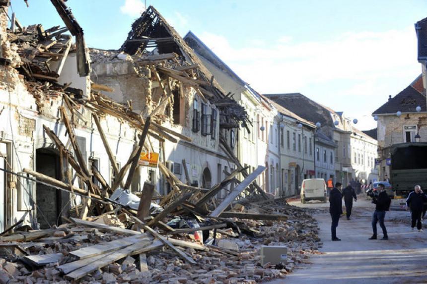 Vlada Hrvatske proglasila stanje prirodne katastrofe