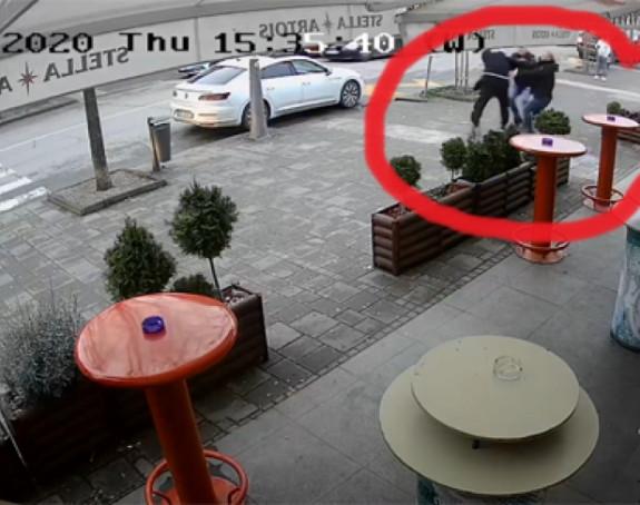 Masovna tuča u Šapcu usred bijela dana (VIDEO)