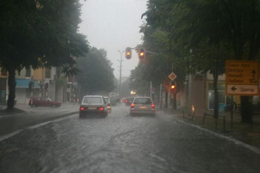 Izdato upozorenje zbog obilnih padavina