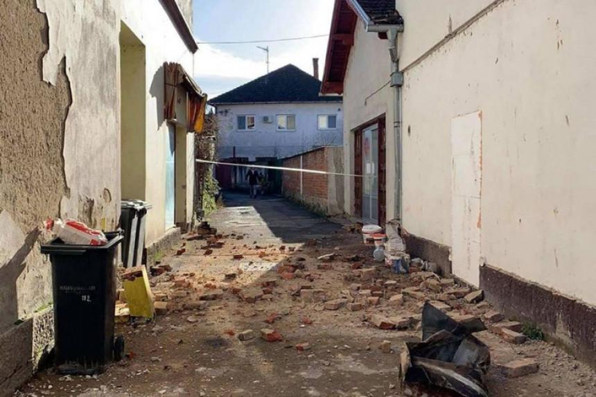 Zemljotres ponovo oštetio zgradu opštine Kostajnica