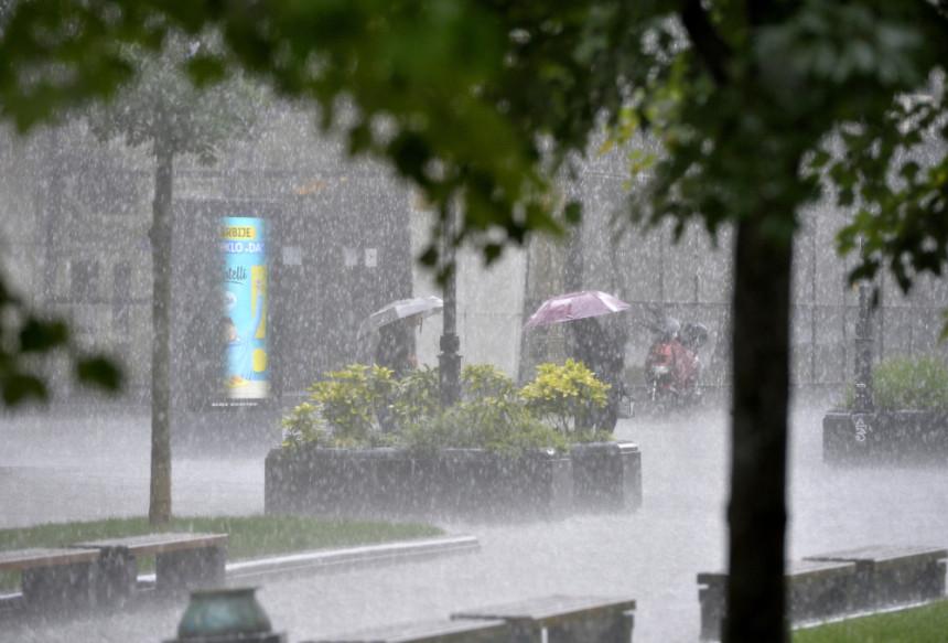 Danas kiša na jugu, u ostalim predjelima susnježica