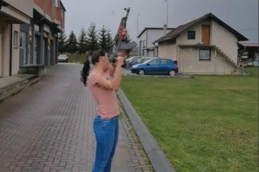 Banjaluka: Na Badnji dan pucala iz automatske puške