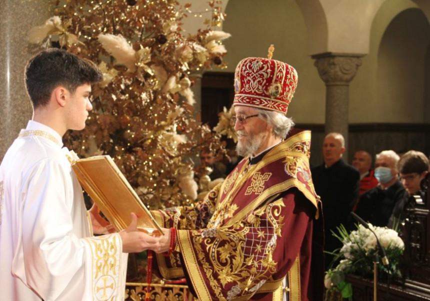 U Hramu Hrista Spasitelja održana liturgija