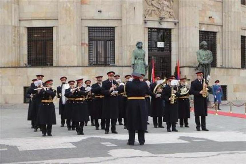 Policijski orkestar upriličio muzički defile Banjalukom