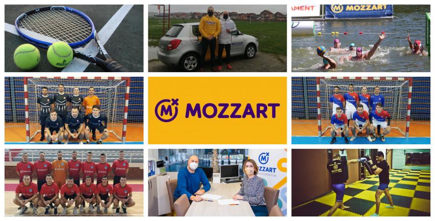 Mozzart najvjerniji navijač domaćeg sporta