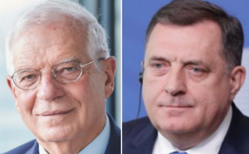 EU od Dodika traži preuzimanje odgovornosti