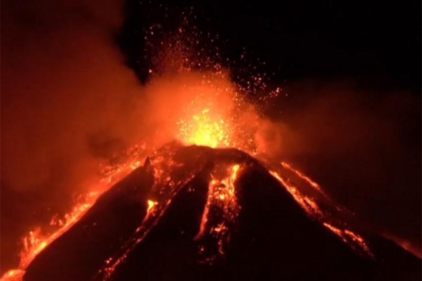 Aktivirala se Etna, najveći vulkan u Evropi (VIDEO)