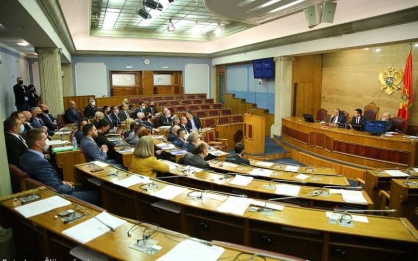 Поново изгласавање закона које је Ђукановић вратио