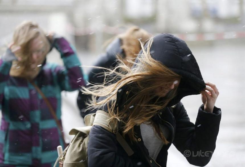 Očekuju se jači udari vjetra u Foči i Banjaluci