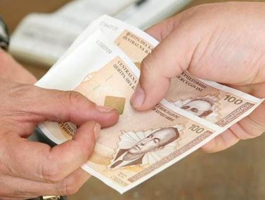Просјечна пензија у Српској лани износила 393 КМ