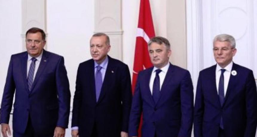 Erdogan pozvao Predsjedništvo BiH u posjetu Turskoj
