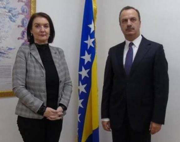 Tadićeva razgovarala s ambasadorom Ukrajine o ikoni