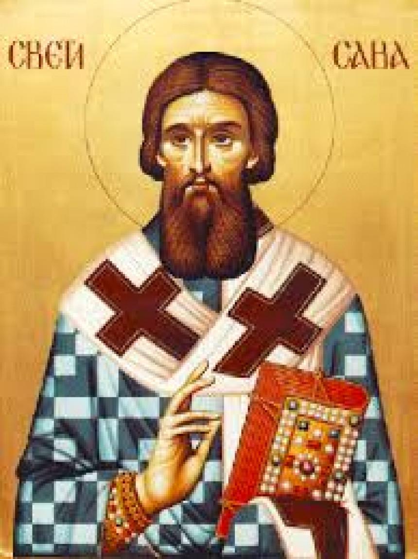 Danas Sveti Sava, utemeljivač srpske crkve i države