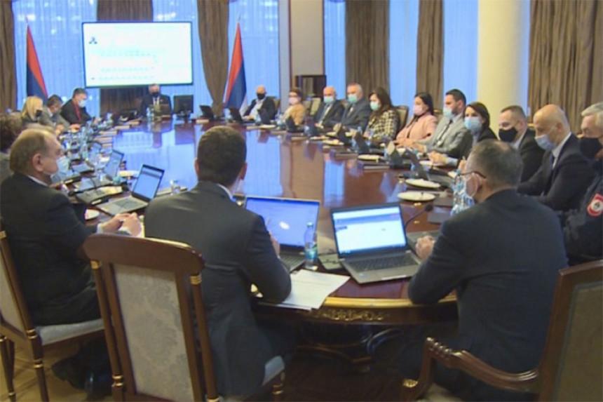Republički štab produžio mjere u Srpskoj