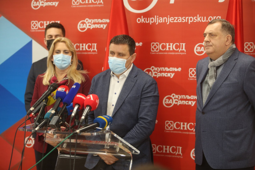 Vlado Đajić novi predsjednik GO SNSD Banjaluka