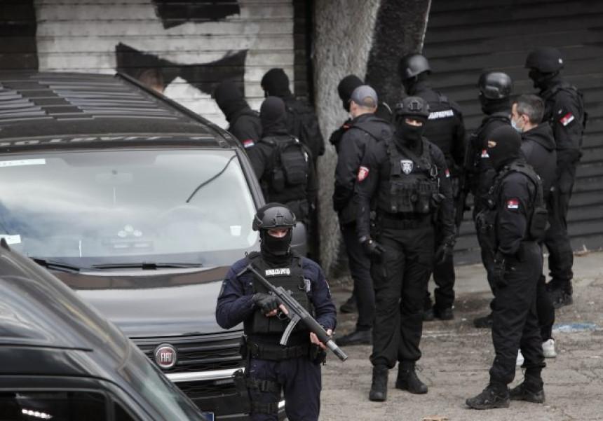 Snimak upada policije na stadion Partizana