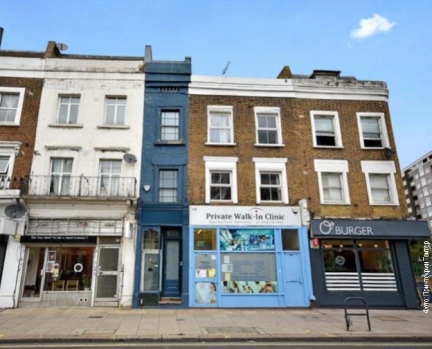 Najuža kuća u Londonu vredi 950. 000 funti!