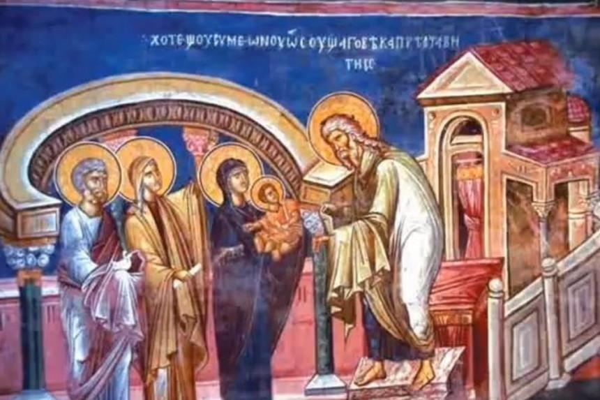 Sretenje- prvi susret Boga i čovjeka, zime i ljeta