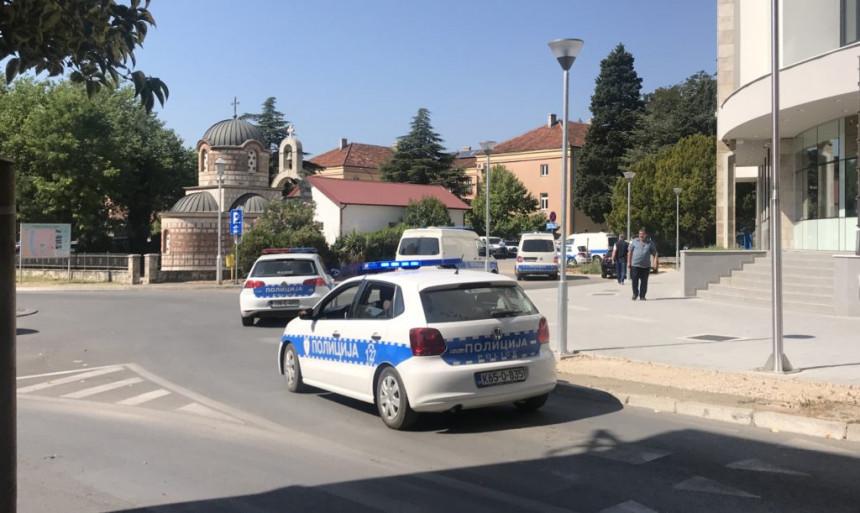 Velika akcija u Trebinju, policija na nogama